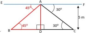 questions on height and distance